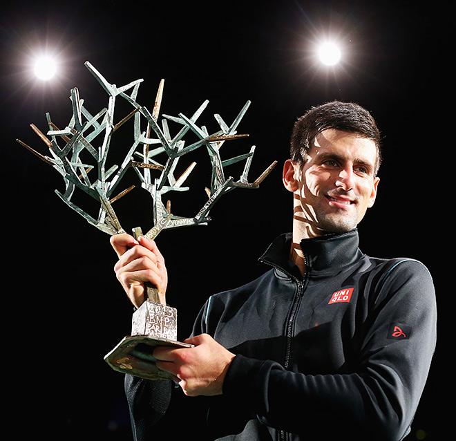 Новак Джокович дважды побеждал в Париже (2009, 2013)