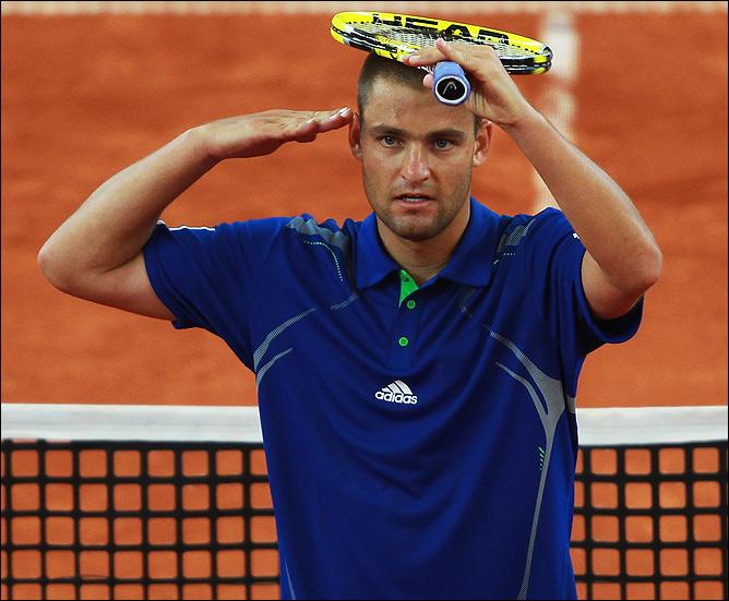29-летний Михаил Южный впервые в карьере добрался до полуфинала турнира в Гамбурге