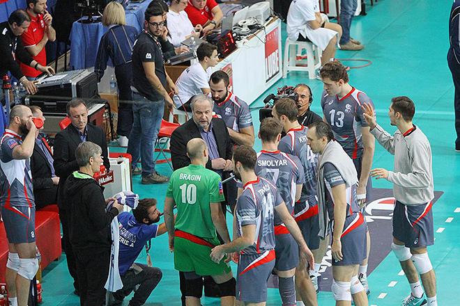 В последнем матче «Белогорье» переиграло «Любе Трея» — 3:1