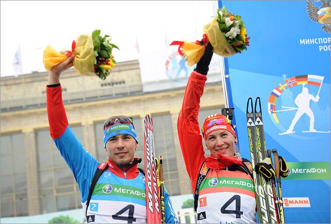 Антон Шипулин и Анастасия Кузьмина