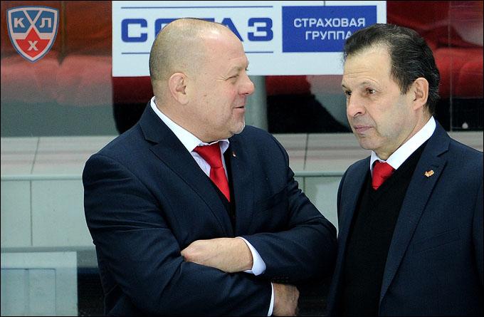 Фёдор Канарейкин и Владимир Семёнов
