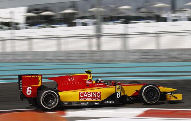 Стефано Колетти во время этапа GP2 Series в Абу-Даби