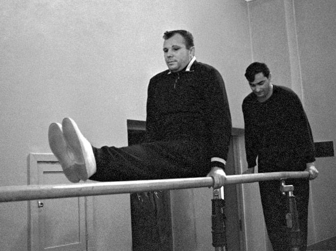 Первый космонавт в мире Юрий Гагарин был отличным спортсменом