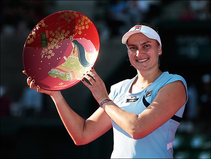 30-летняя Надежда Петрова одержала в Токио пока свою самую главную победу
