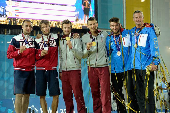Дмитрий Барсук и Ярослав Кошкарёв – серебряные призёры Европейских игр в Баку