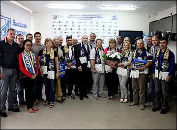 Сергей Могильников с журналистами