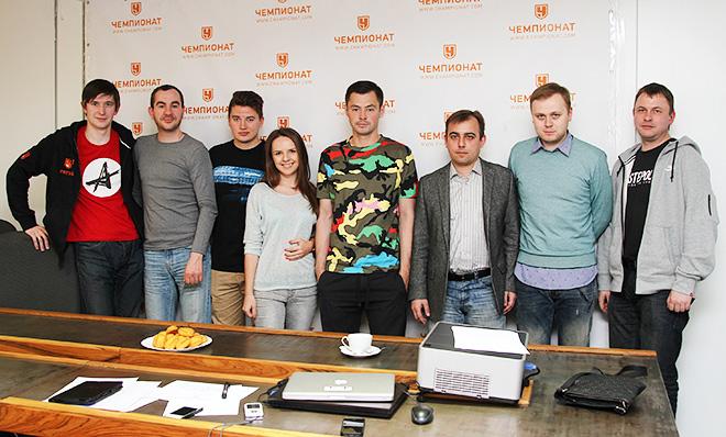 Динияр Билялетдинов в редакции «Чемпионата»