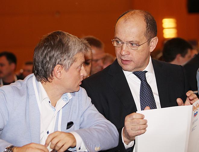 Игорь Ефремов и Сергей Прядкин