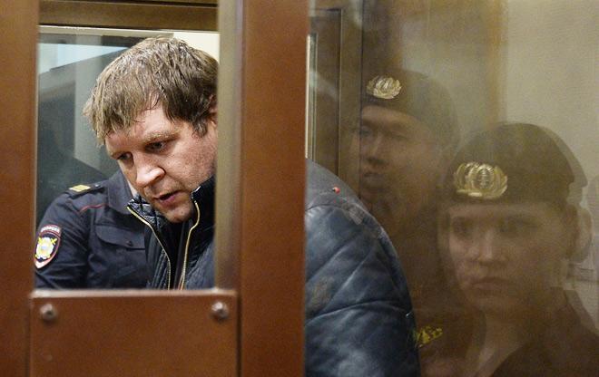 Суд оставил Александра Емельяненко под арестом до конца лета