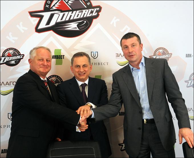 Юлиус Шуплер, Борис Колесников и Олег Микульчик
