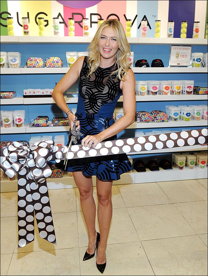 В том числе собственная марка конфет помогла Шараповой стать самой высокооплачиваемой спортсменкой года