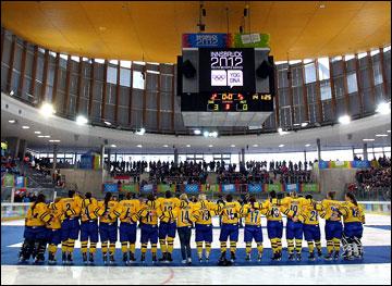 Женская хоккейная сборная Швеции