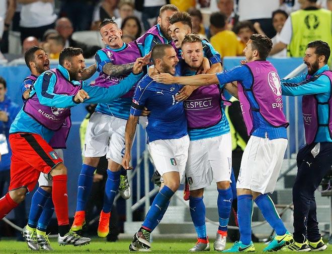 Мгновения 19-го игрового дня Евро-2016