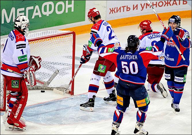 17.11.2010. КХЛ. Металлург Мг - ЦСКА - 5:0. Фото 04.