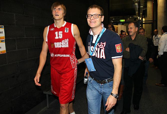 Андрей Кириленко и Олег Ушаков