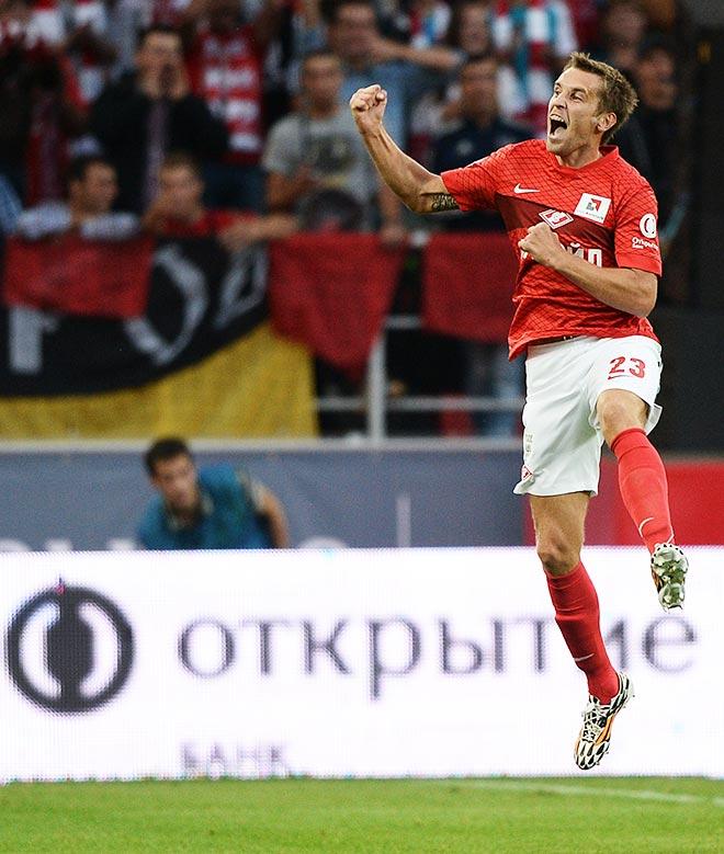 Дмитрий Комбаров стал автором первого гола на новом стадионе «Спартака»