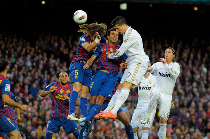 """""""Барселона"""" — """"Реал"""""""