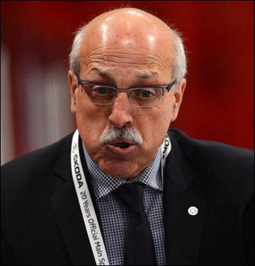 Главный тренер сборной Италии Рик Корнаккья