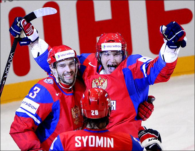 Александр Овечкин и его первый гол на чемпионате