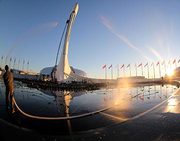 Олимпийский парк – прямо-таки сказка