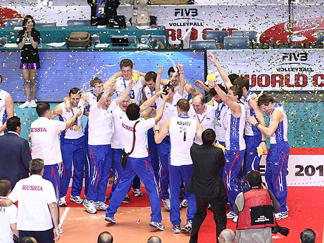 В 2011 году сборная России на Кубке мира заняла первое место