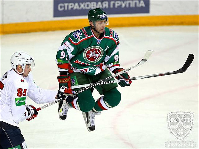 17.11.2010. КХЛ. Ак Барс - СКА - 6:5. Фото 04.