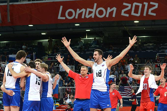 Радость сборной России