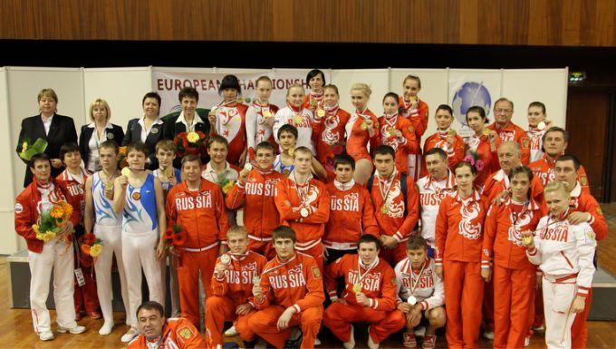 Сборная России на чемпионате Европы в Варне-2010