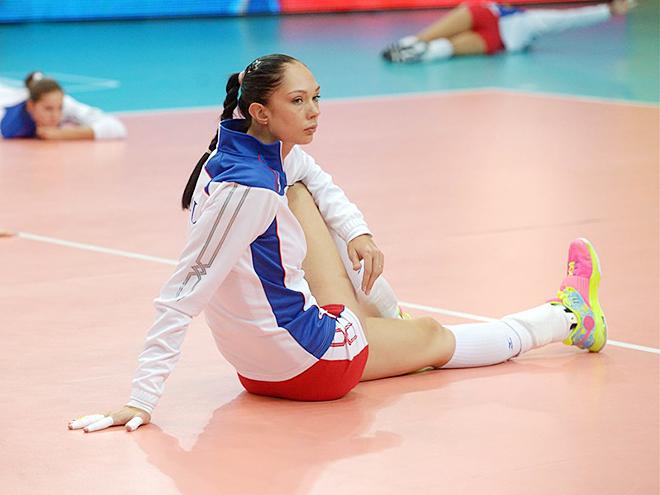 Екатерина Гамова на чемпионате мира 2014 года