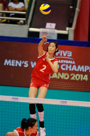 Восходящая звезда китайской команды — 18-летняя Жу Тин
