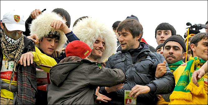 Камиль Агаларов в фанатском секторе