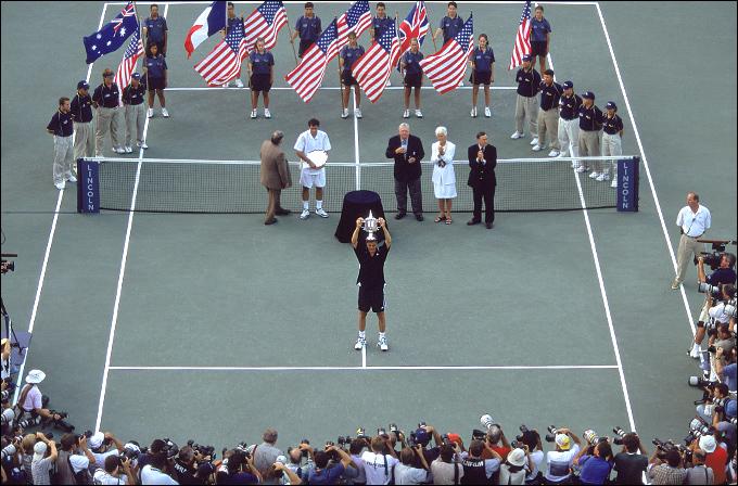 Марат Сафин в великолепном стиле сокрушил Пита Сампраса в финале US Open