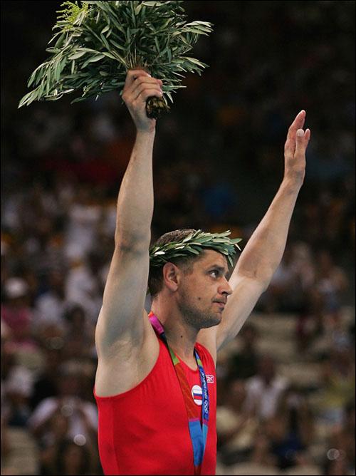 Александр Москаленко – олимпийский чемпион Сиднея и серебряный призёр Афин