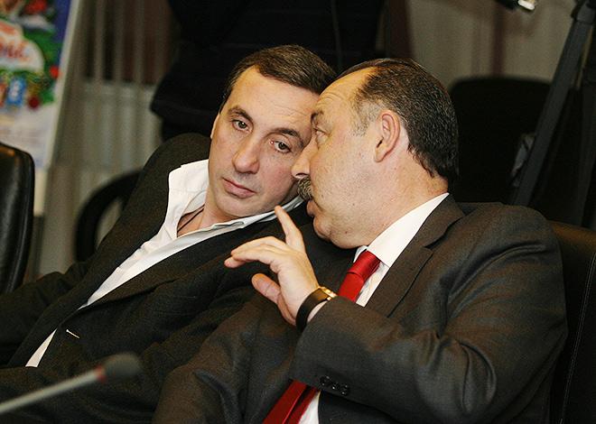 Евгений Гинер и Валерий Газзаев