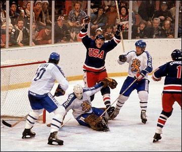 Олимпийское чемпионство было оформлено сборной США только 24 февраля, после победы над Финляндией