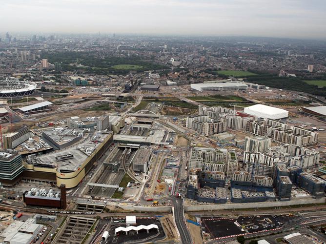 Олимпийский парк-2012. Через год здесь всё будет по-другому