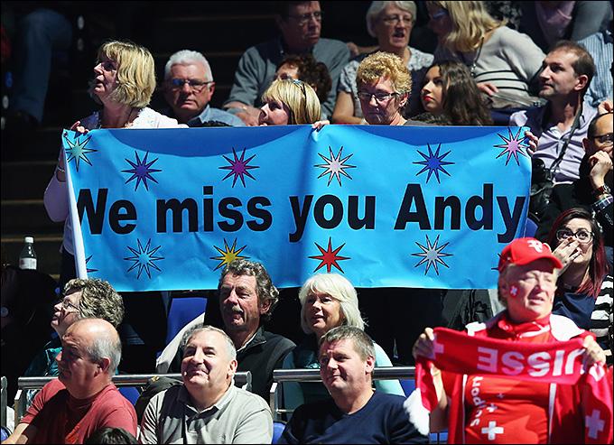 Энди Маррей, не игравший с сентября, выступит в Абу-Даби
