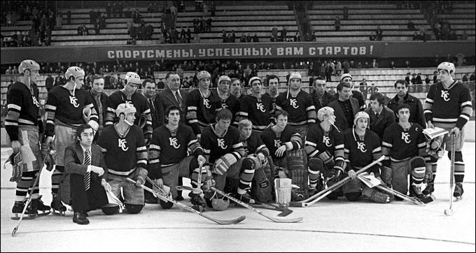 """Вице-чемпионы СССР 1975 года """"Крылья Советов"""""""