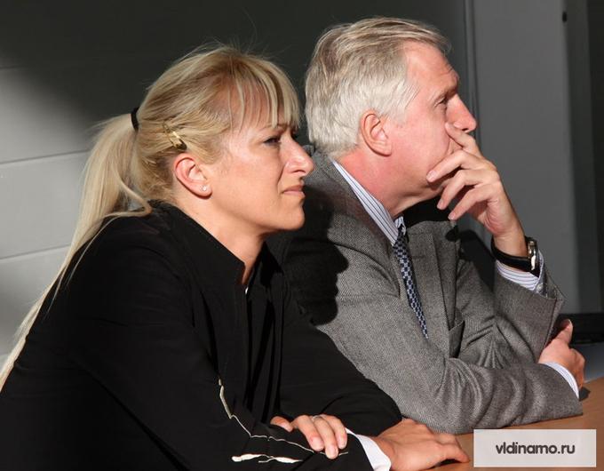 Светлана Илич и Владимир Зиничев