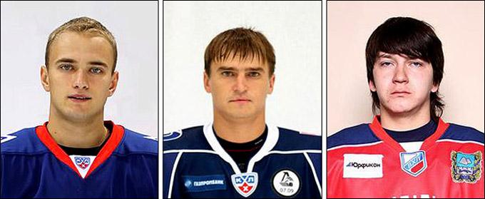 Слева направо: Евгений Григоренко, Алексей Косоуров, Дмитрий Потайчук