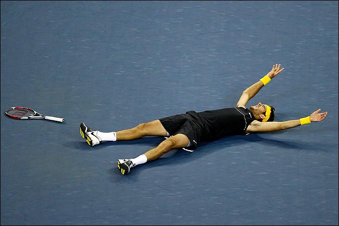 Хуан-Мартин Дель Потро сенсационно выиграл US Open