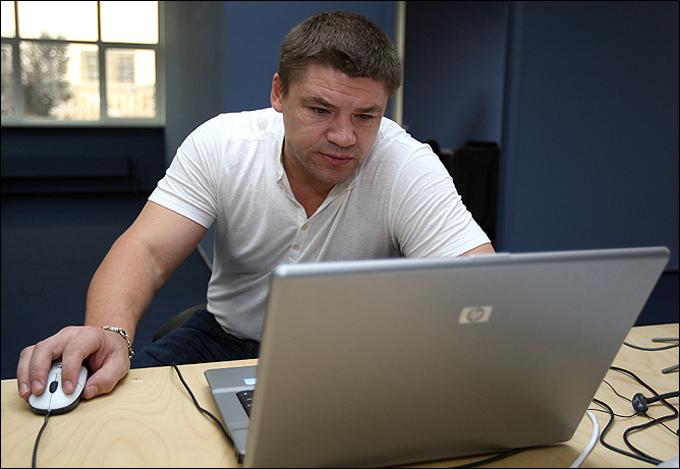 """Андрей Коваленко в редакции """"Чемпионат.com"""""""