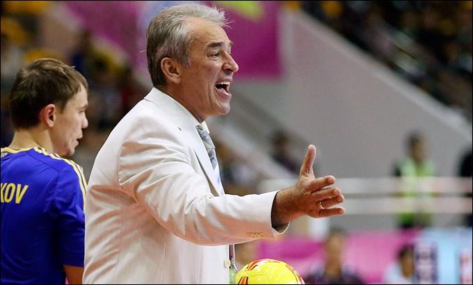 Главный тренер сборной команды Украины Геннадий Лисенчук.