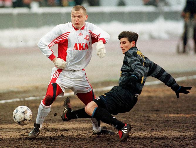 """14.04.1998. """"Спартак"""" Москва - """"Интер"""" Италия"""
