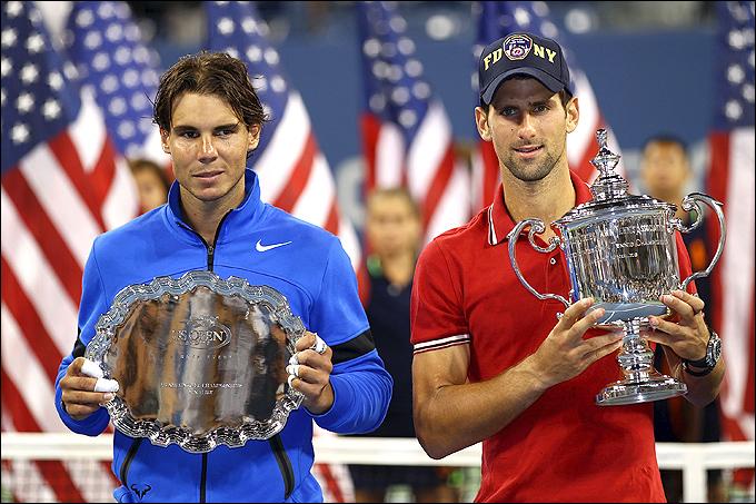 Новак Джокович переиграл Рафаэля Надаля и впервые стал чемпионом US Open