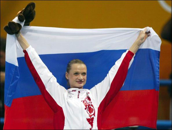 Светлана Хоркина – гордость российского спорта, ныне вице-президент ФСГР