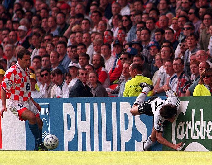 Евро-1996. 1/4 финала. Германия – Хорватия – 2:1