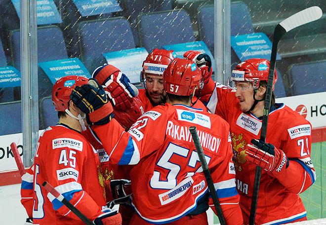 За сборную главного тренера Олега Знарка нашим болельщикам стыдно не будет никогда