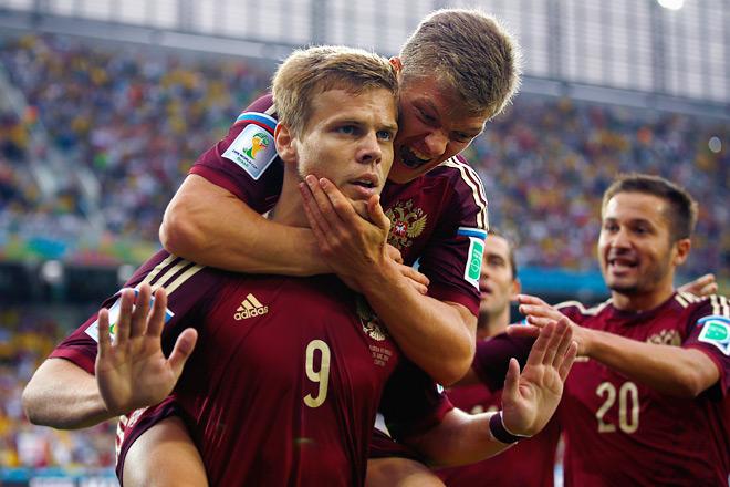 Гол Александра Кокорина вселил надежду в сердца российских болельщиков