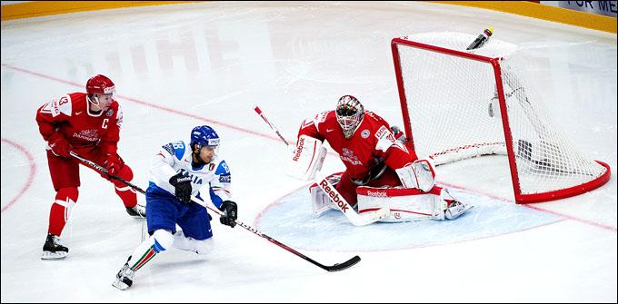 6 мая 2012 года. Стокгольм. Чемпионат мира. Групповой турнир. Дания — Италия — 3:4 (ОТ)